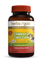 Herbs of Gold Children's Calci Care - 60 Chewable Tablets