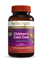 Herbs of Gold Children's Calm Care  - 60 Chewable Tablets