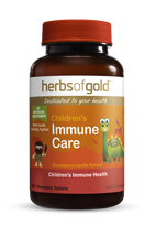 Herbs of Gold Children's Immune Care - 60  Chewable Tablets