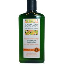 ANDALOU Naturals  Moisture Rich  Shampoo 340ml
