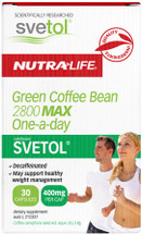 NutraLife Green Coffee Bean 2800 Max + Svetol - 30 Capsules