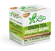 X50 Green Tea - 60 x 3g Oral Powder Sachets