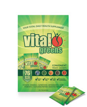 Vital greens Convenient Travel Sachets - 30 x 10g Sachets