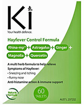 Ki  Hayfever Control Formula - Tablets