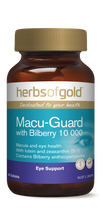 Herbs of Gold Macu-Guard with Bilberry 10 000  -   Tablets