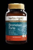 Herbs of Gold Bromelain Forte - 60 Capsules