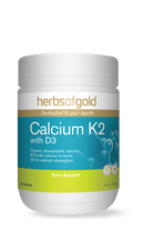Herbs of Gold Calcium K2 with D3 - Tablets