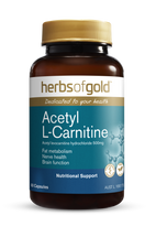Herbs of Gold Acetyl L-Carnitine - Capsules