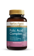 Herbs of Gold Folic Acid Complex - 60 Tablets
