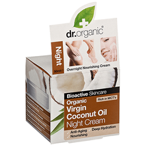 dr.organic Virgin Coconut Oil - Night Cream - 50ml