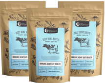 Nutra Organics -  Beef Bone Broth - Organic grass fed - 100g