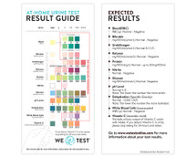 WE TEST   At-Home Urine Test - Kit