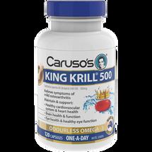 Caruso's King Krill® 500 - 120 Capsules