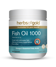 Herbs of Gold Fish Oil 1000   -  200 Capsules