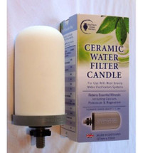 CERAMIC WATER FILTER CANDLE- SCP Flouride Plus