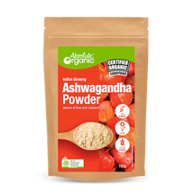 Absolute Organic Ashwagandha Powder - 150g