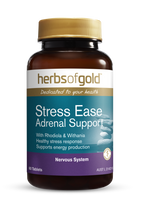Herbs of Gold Stress Ease Adrenal Support - 60 Tablets