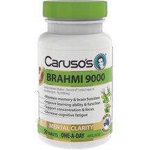 Caruso's Brahmi 9000 - 50 Tablets