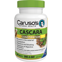 Caruso's Cascara - 60 Tablets