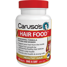 Caruso's Hair Food - 60 Tablets