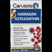 Caruso's Hawaiian Astaxanthin - 30 Capsules