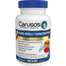 Caruso's King Krill® Concentrate - 60 Capsules
