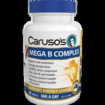 Caruso's Mega B Complex - 60 Tablets