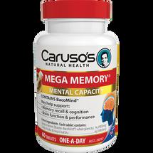 Caruso's Mega Memory - 60 Tablets