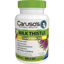 Caruso's Milk Thistle - 60 Tablets