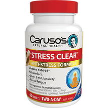 Caruso's Stress Clear - 60 Tablets