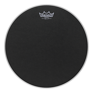 Remo Black Suede Emperor Crimplock Marching Drumhead