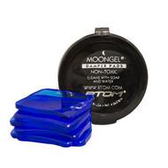 Moongel Damper Pads Set of 6 with Case (blue)