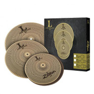 "ZILDJIAN L80 LOW VOLUME 468 3-PIECE CYMBAL BOX SET 14"", 16"", 20"""