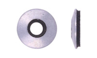 """1/4"""" ID x 5/8"""" Bonded Sealing Washer, Low Carbon Steel, Zinc Clear (Package of 100)"""