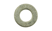 "1 1/4"" F436 Structural Flat Washer, Hot Dipped Galvanized"