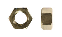"""5/16""""-24 UNF Finished Hex Nut, 18-8SS, Plain"""