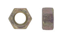 MS51967-5 Finished Hex Nut, Grade B, Cad Yellow