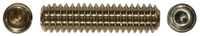 """#6-32 x 1/4"""" Cup Point Socket Set Screw, 18-8 Stainless Steel"""