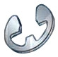 """5/32"""" Type E Retaining Ring 15-7 Mo Stainless Steel (0.156"""") (Box of 500)"""
