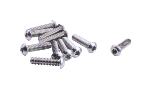 """FT Coarse Socket Button Hd Cap Screw Stainless 18-8 5//16/""""-18 x 7//8/"""""""