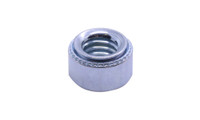 #4-40 - 0 Self Clinching Nut, Steel, Zinc Plated (Box of 10000)