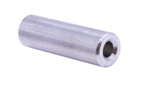 "#10 x 1/2"", 1/2"" Round Spacer, 303 Stainless Steel (Box of 100)"
