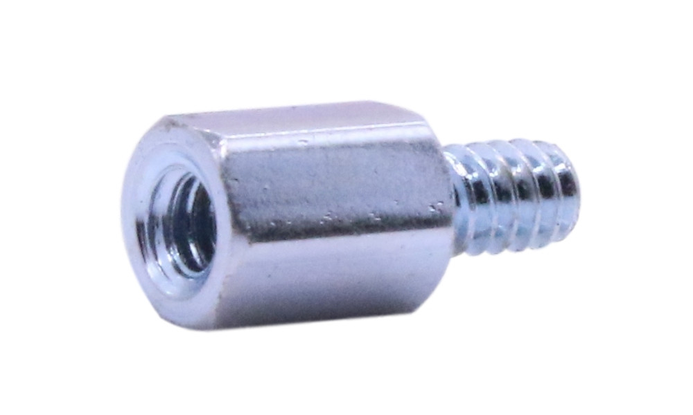 Hex Standoff Pack of 10 0.812 Length, Female #8-32 Screw Size Stainless Steel 0.312 OD