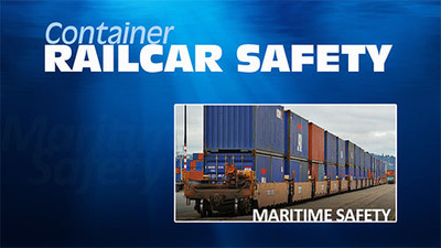 Container Railcar Safety: Maritime Safety