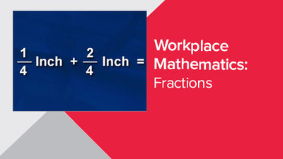 Workplace Mathematics: Fractions