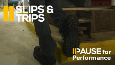 Pause for Performance: Slips & Trips