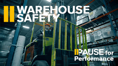 Pause for Performance: Warehouse Safety