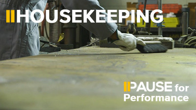 Pause for Performance: Housekeeping