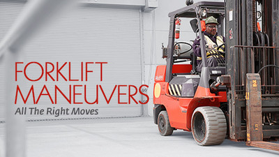 Forklift Maneuvers: All The Right Moves