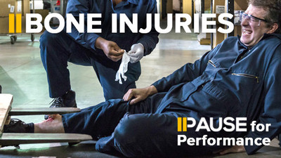 Pause for Performance: Bone Injuries